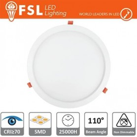 Downlight LED IP20 15W 4000K 1000LM 110° FORO:180mm