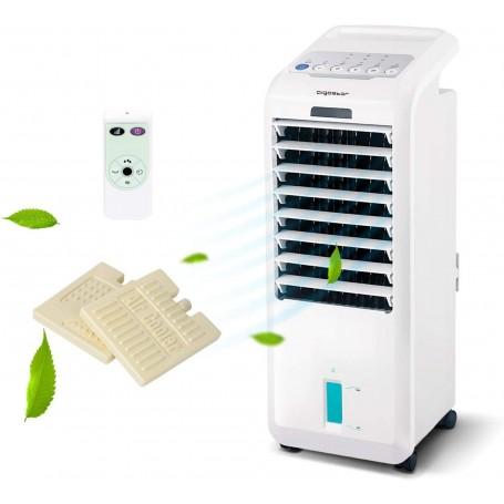 Raffrescatore Refrigeratore Purificatore D'Aria 55W Con Telecomando 5L Aigostar