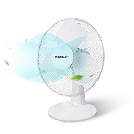 Ventilatore da Tavolo Aigostar 40W Silezioso 3 Velocità
