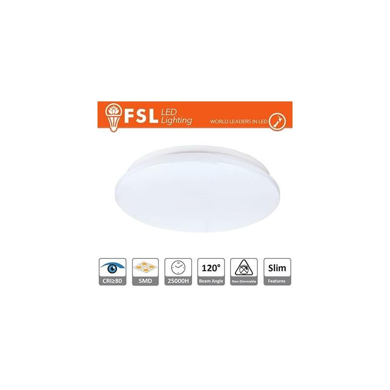 Plafoniera SLIM 25W - 4000K 1650LM 120º 380X55 mm +CRI 80