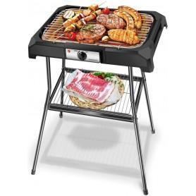 Barbecue Elettrico Grill Piastra Bistecchiera 2000W Aigostar