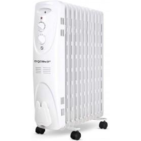 Radiatore Elettrico Portatile ad Olio Aigostar 2300W 3 Regolazioni Termiche e Termostato